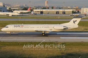 EP-CFD - Iran Air Fokker 100