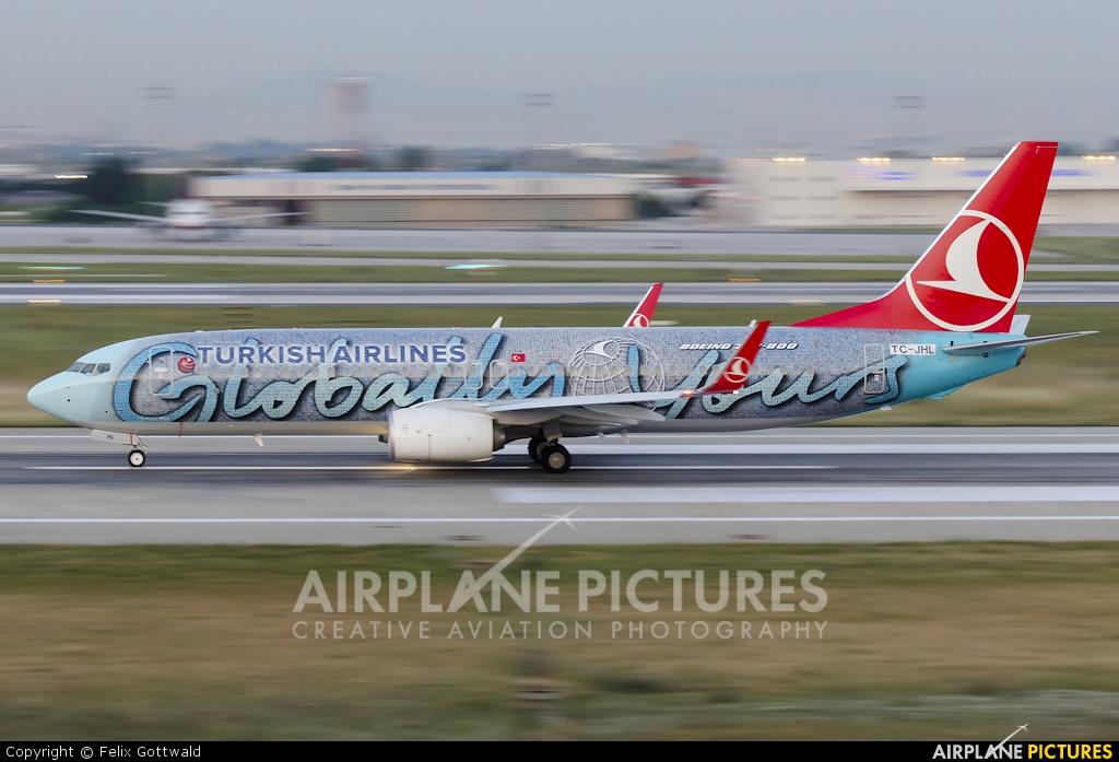 Turkish Airlines TC-JHL aircraft at Istanbul - Ataturk