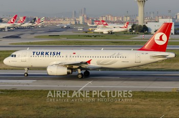 TC-JPI - Turkish Airlines Airbus A320