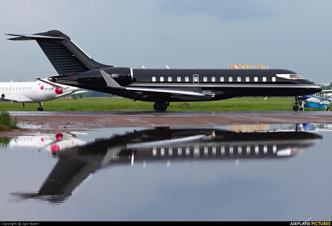 Gama Aviation VP-BKI aircraft at Kiev - Zhulyany