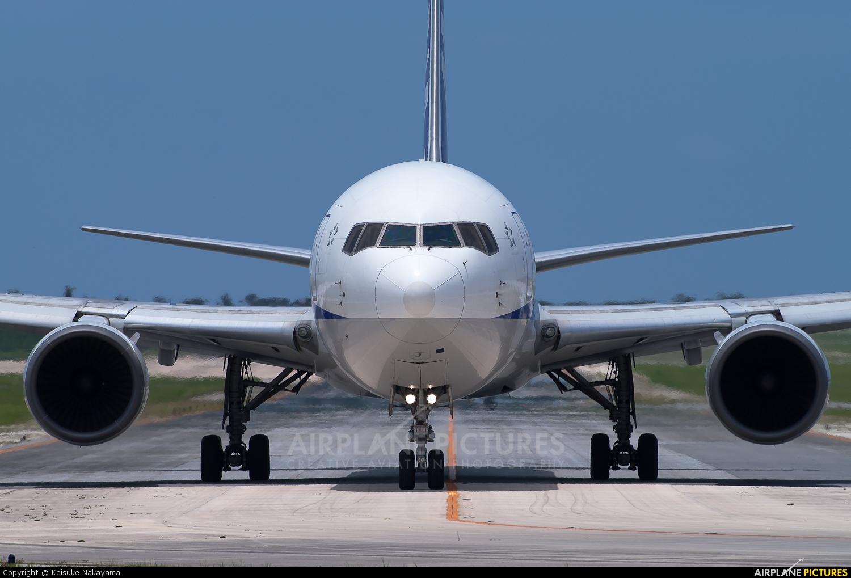 ANA - All Nippon Airways JA8257 aircraft at Shimojishima