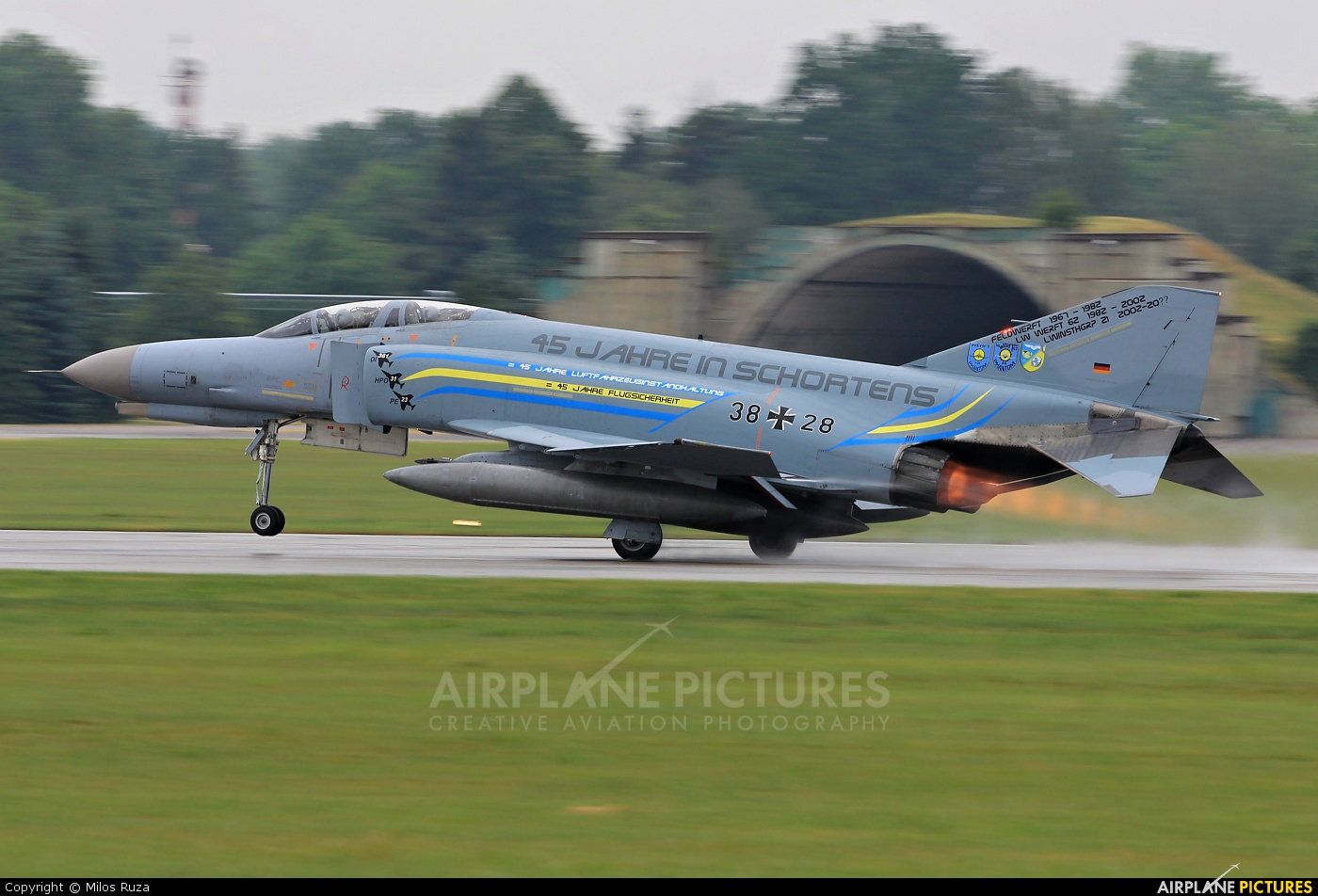 Germany - Air Force 38+28 aircraft at Pardubice