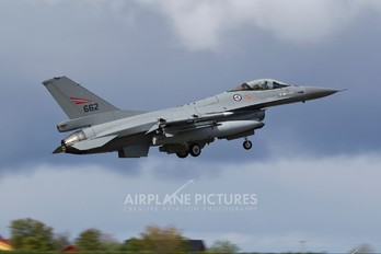 662 - Norway - Royal Norwegian Air Force Lockheed Martin F-16AM Fighting Falcon
