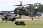 161226 - Sweden - Air Force Sikorsky Hkp16A Black Hawk aircraft