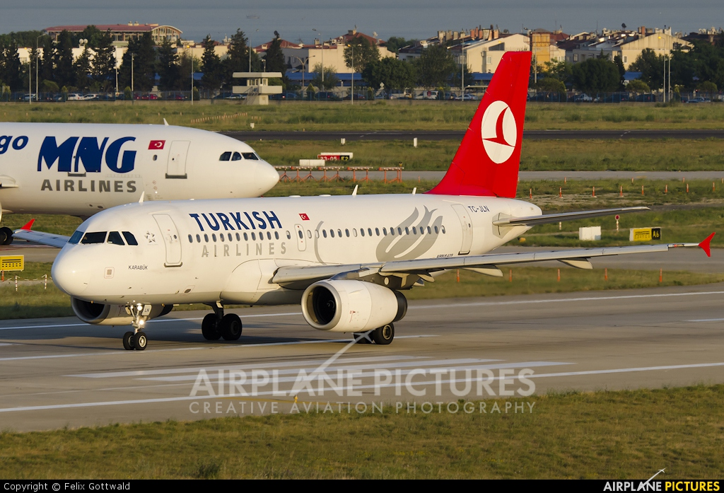Turkish Airlines TC-JLN aircraft at Istanbul - Ataturk