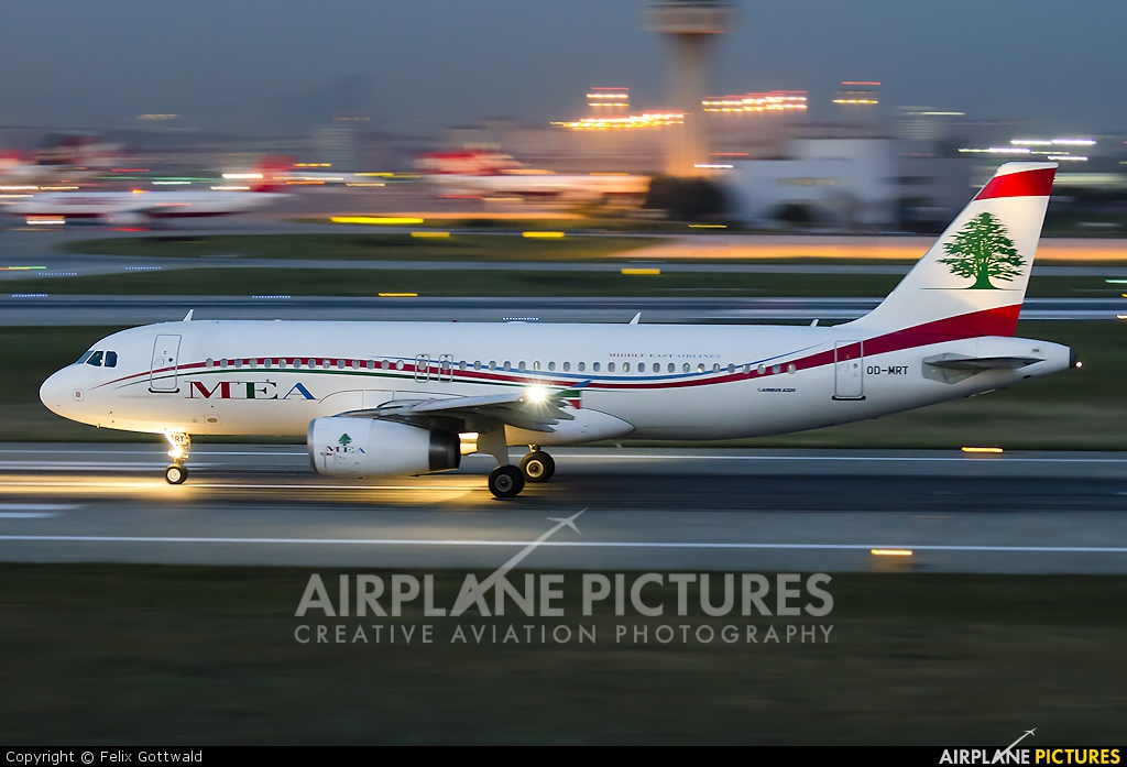 MEA - Middle East Airlines OD-MRT aircraft at Istanbul - Ataturk