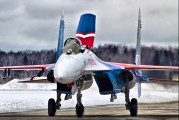 "01 - Russia - Air Force ""Russian Knights"" Sukhoi Su-27 aircraft"