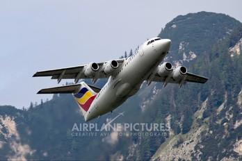 YR-BEC - Romania - Government (Romavia) British Aerospace BAe 146-200/Avro RJ85