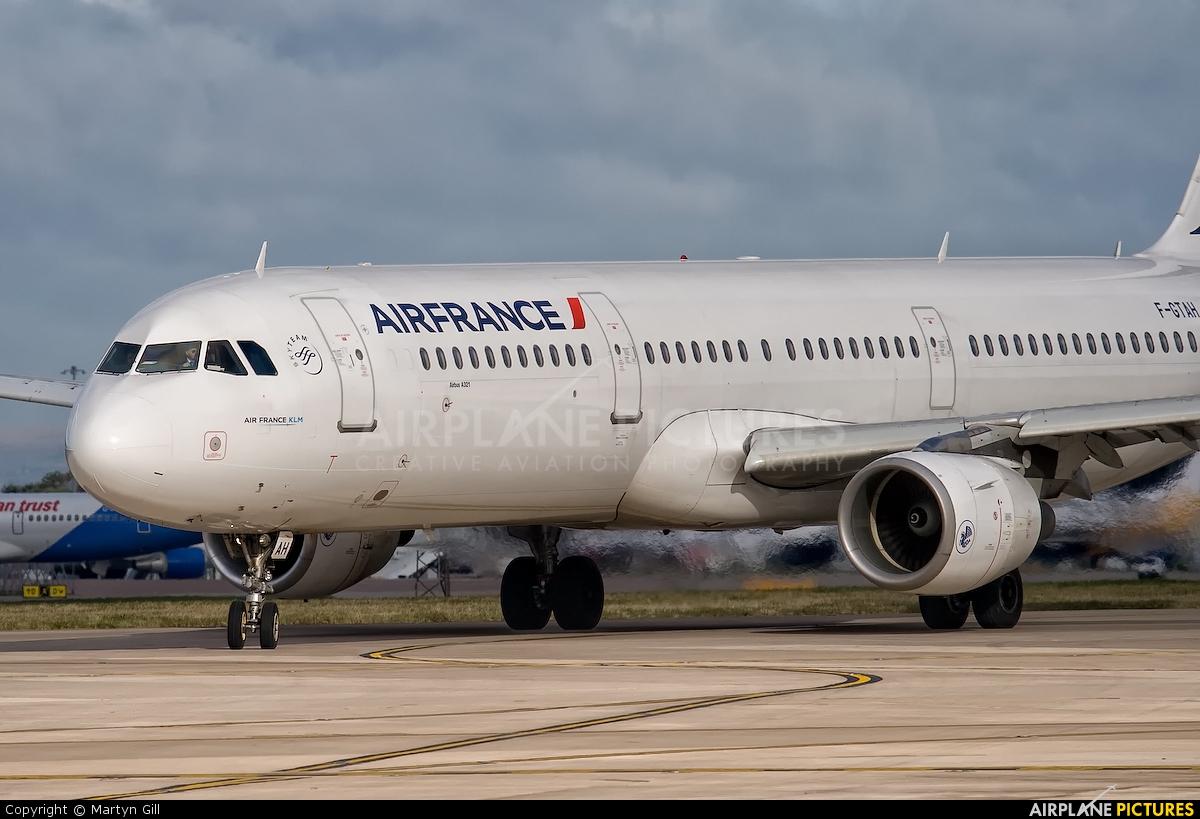 Air France F-GTAH aircraft at Manchester