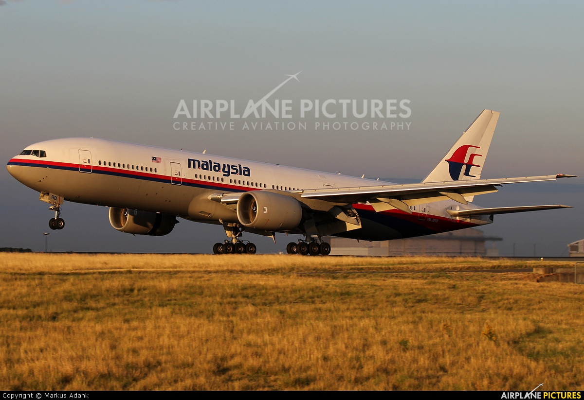 Malaysia Airlines 9M-MRB aircraft at Paris - Charles de Gaulle