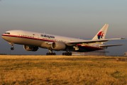 9M-MRB - Malaysia Airlines Boeing 777-200ER aircraft
