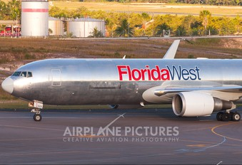 N442LA - Florida West Boeing 767-300F