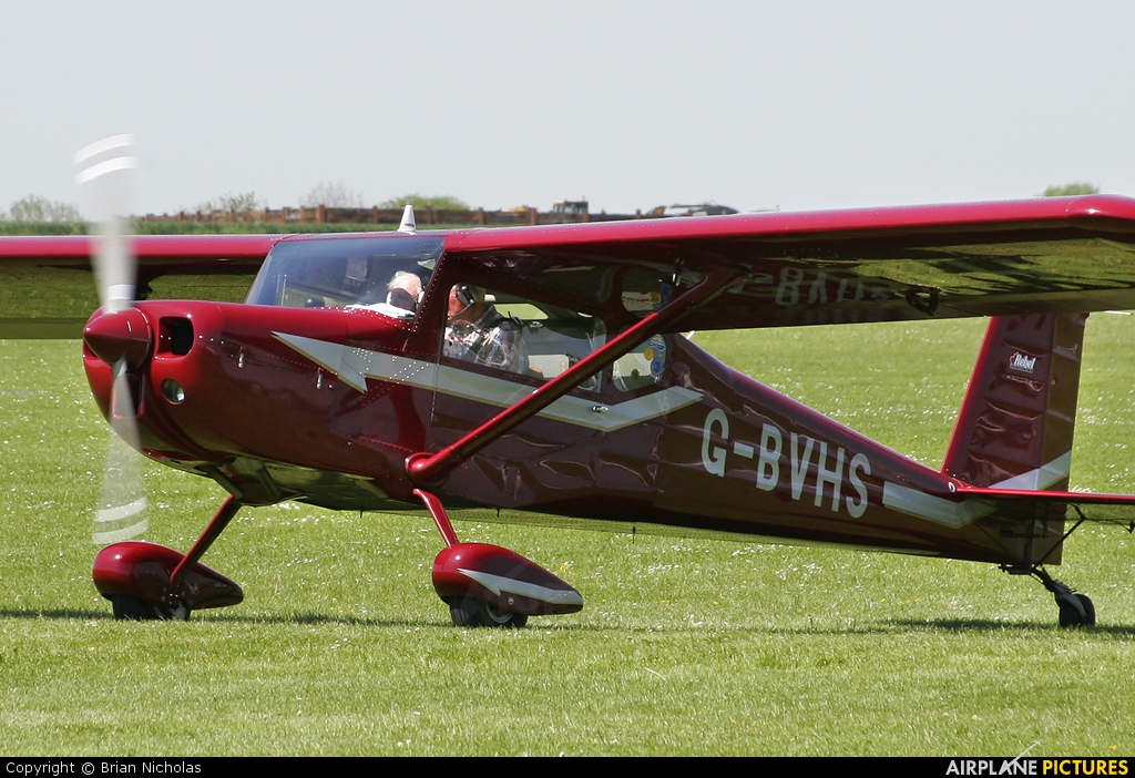 Private G-BVHS aircraft at Northampton / Sywell