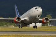 LN-BRV - SAS - Scandinavian Airlines Boeing 737-500 aircraft