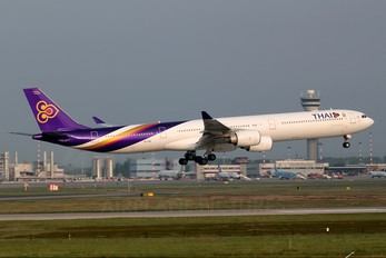 HS-TNE - Thai Airways Airbus A340-600