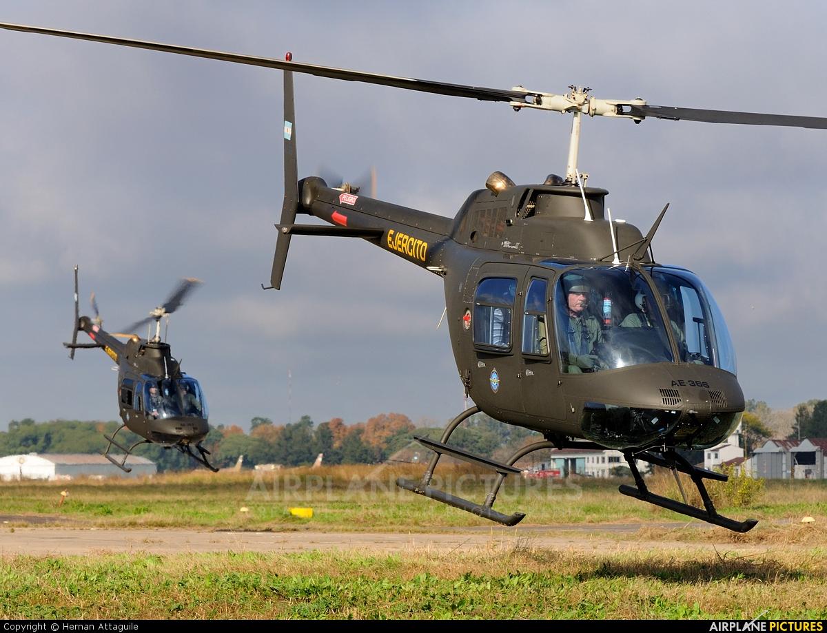 Argentina - Army AE-366 aircraft at Campo de Mayo