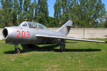 203 - Hungary - Air Force Mikoyan-Gurevich MiG-15 UTI