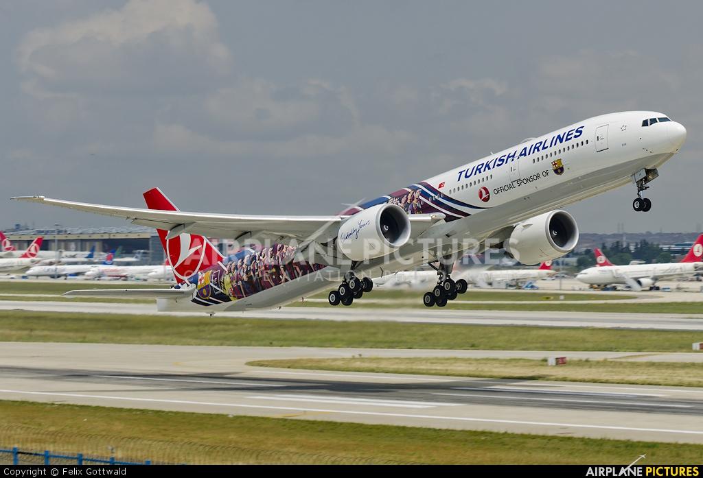 Turkish Airlines TC-JJI aircraft at Istanbul - Ataturk