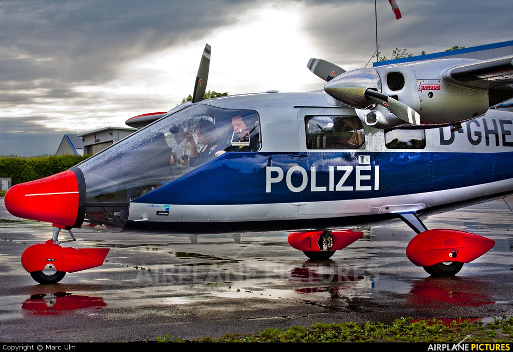 Germany - Police D-GHEA aircraft at Donauwörth - Genderkingen