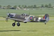 G-LFVB - Patina Supermarine Spitfire LF.Vb aircraft
