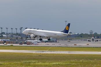 D-AEBB - Lufthansa Regional - CityLine Embraer ERJ-195 (190-200)