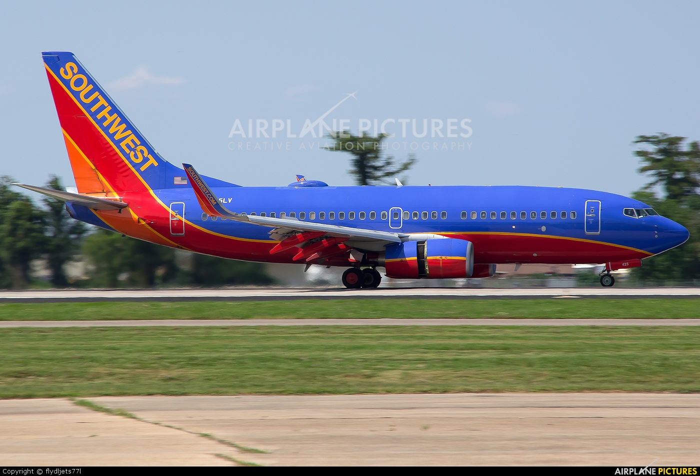 Southwest Airlines N425LV aircraft at New Orleans - Louis Armstrong Intl