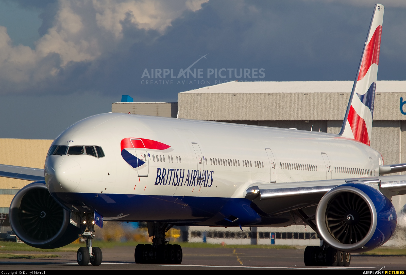 British Airways G-STBF aircraft at London - Heathrow