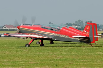 JY-RFB - Royal Jordanian Falcons Extra 300L, LC, LP series