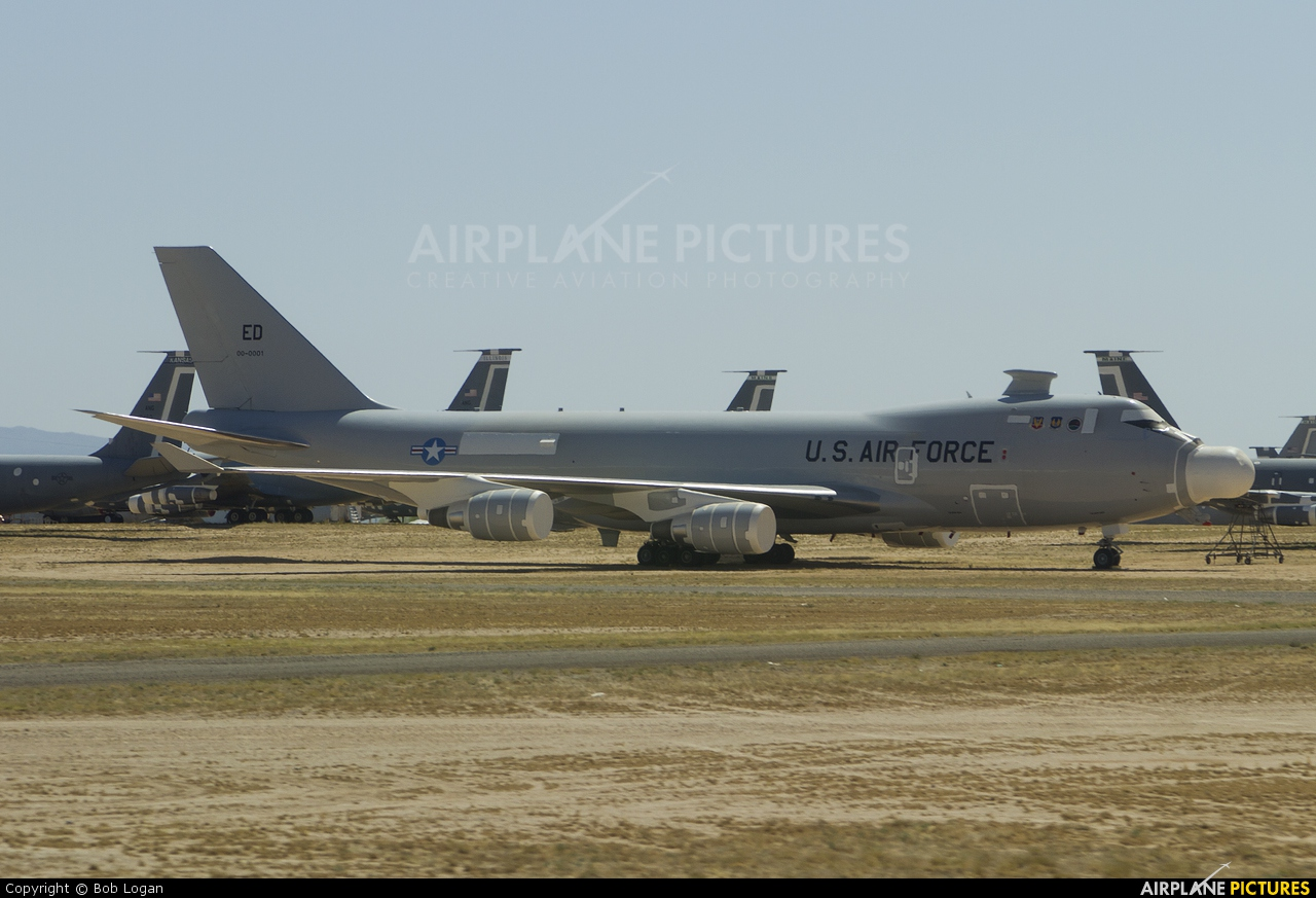 USA - Air Force 00-0001 aircraft at Davis-Monthan AFB