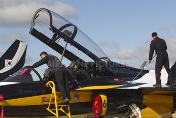 10-0051 - Korea (South) - Air Force: Black Eagles Korean Aerospace T-50 Golden Eagle