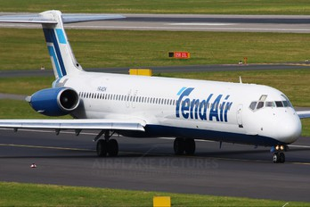 YR-MDK - Tend Air - Ten Airways McDonnell Douglas MD-82