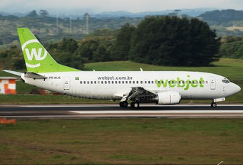 PR-WJE - WebJet Linhas Aéreas Boeing 737-300