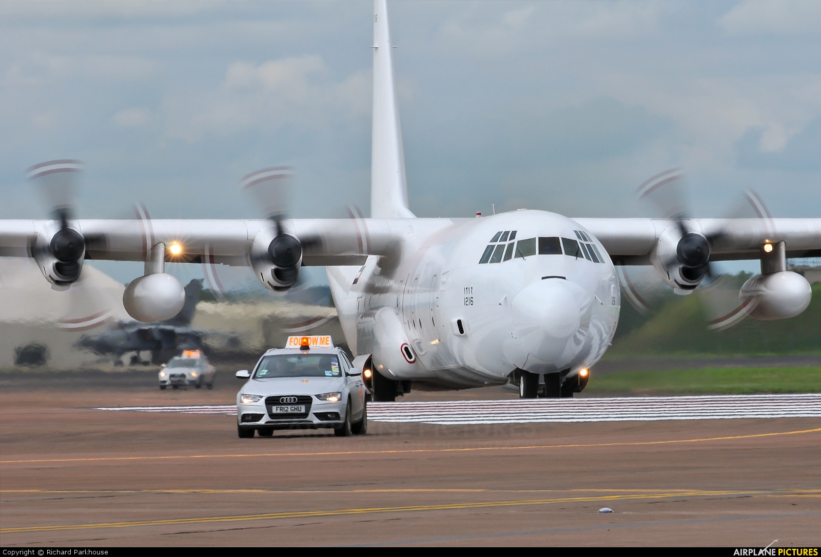 United Arab Emirates - Air Force 1216 aircraft at Fairford