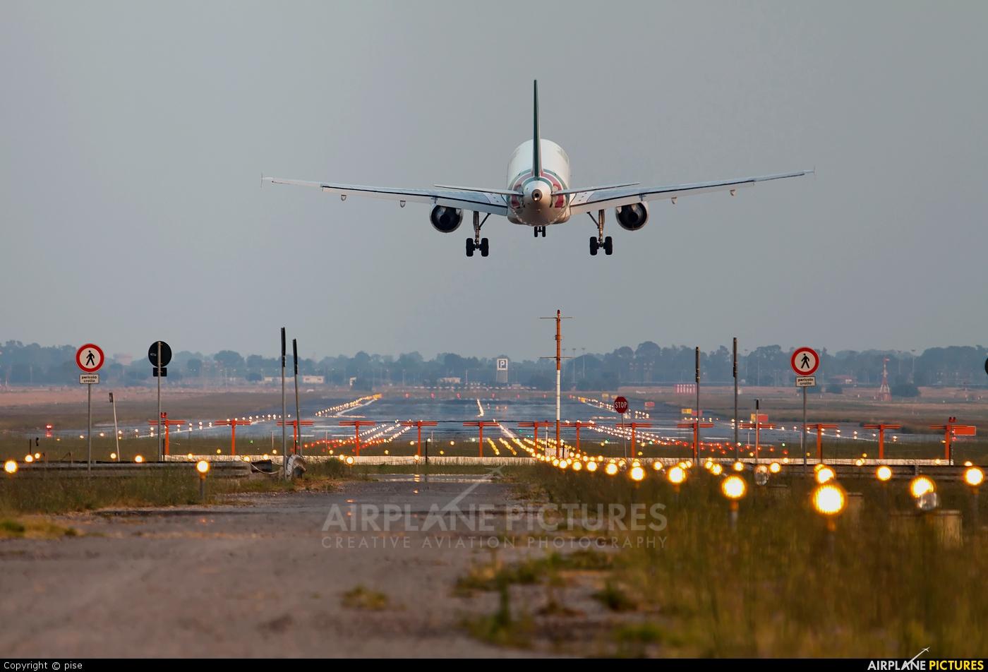 Alitalia EI-DTL aircraft at Rome - Fiumicino