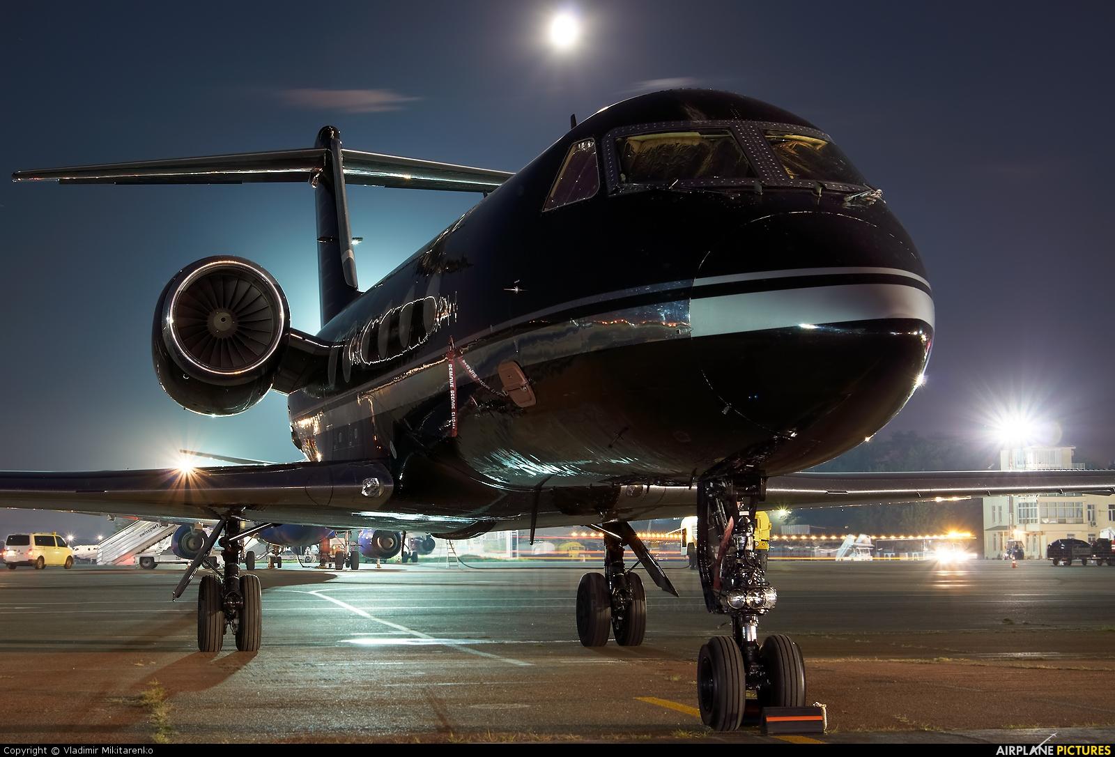 Gama Aviation M-PBKI aircraft at Kiev - Zhulyany