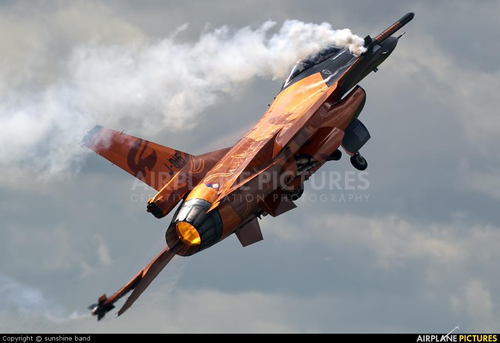 Netherlands - Air Force J-015 aircraft at Waddington