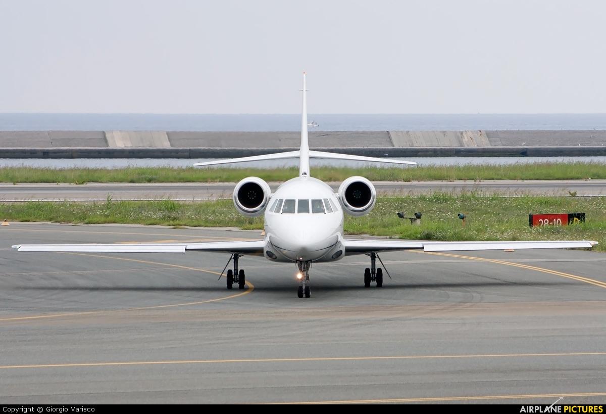 Aligap OY-SIR aircraft at Genoa - Sestri