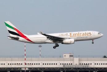 A6-EKV - Emirates Airlines Airbus A330-200