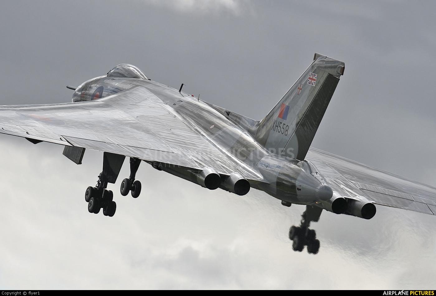 Vulcan to the Sky Trust G-VLCN aircraft at Farnborough