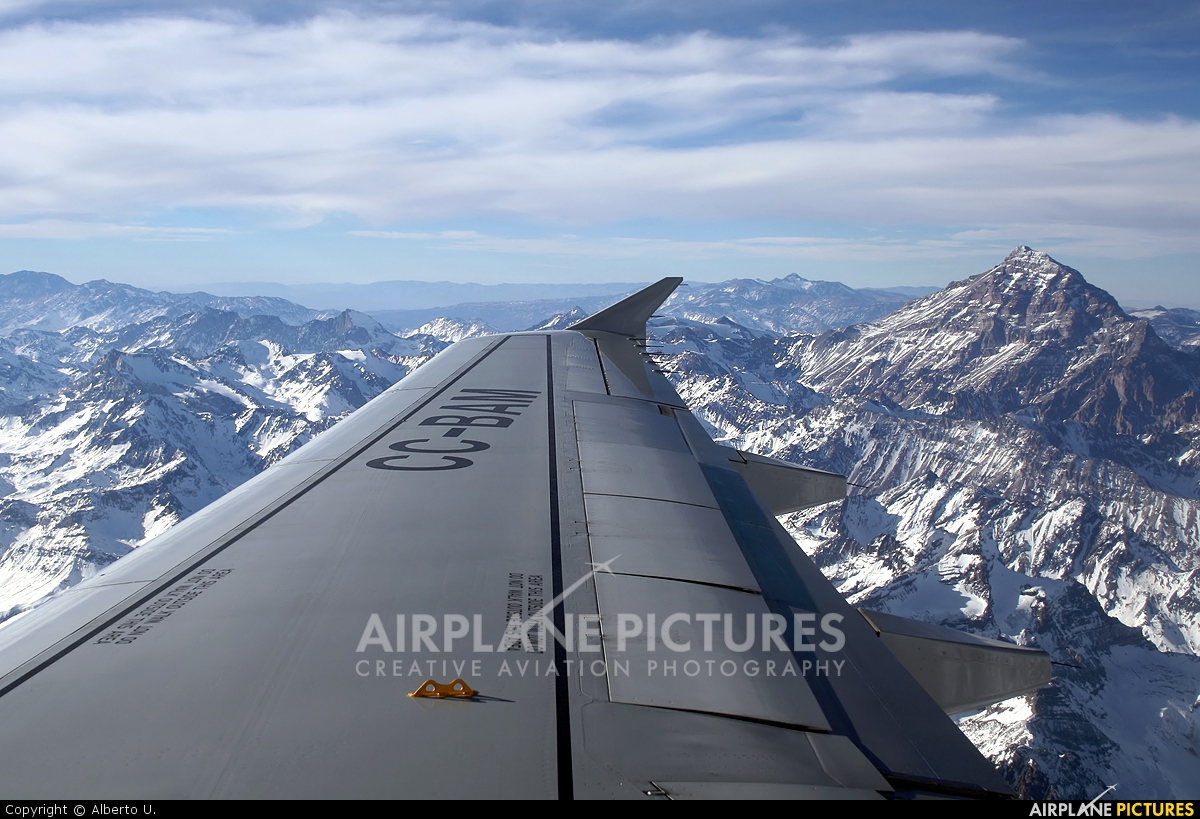 LAN Airlines CC-BAM aircraft at In Flight - Argentina