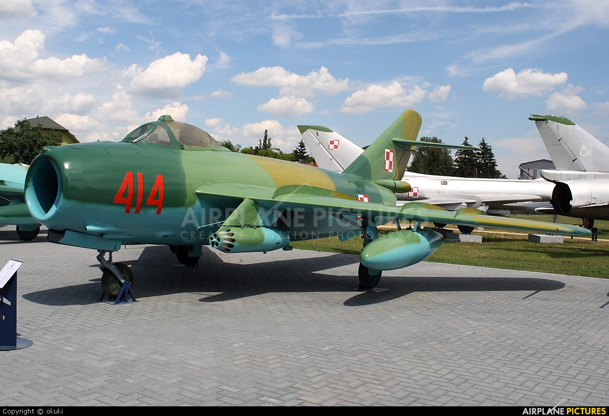 Poland - Air Force 414 aircraft at Dęblin - Museum of Polish Air Force