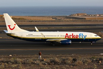 N739MA - Arke/Arkefly Boeing 737-800