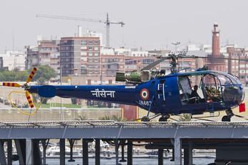 IN467 - India - Army Hindustan SA 316B Chetak