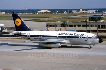 D-ABHE - Lufthansa Cargo Boeing 737-200F