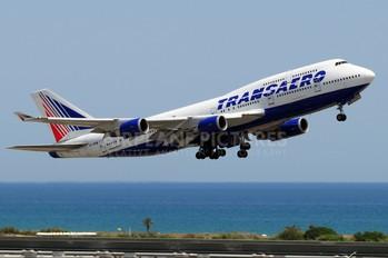 VQ-BHW - Transaero Airlines Boeing 747-400