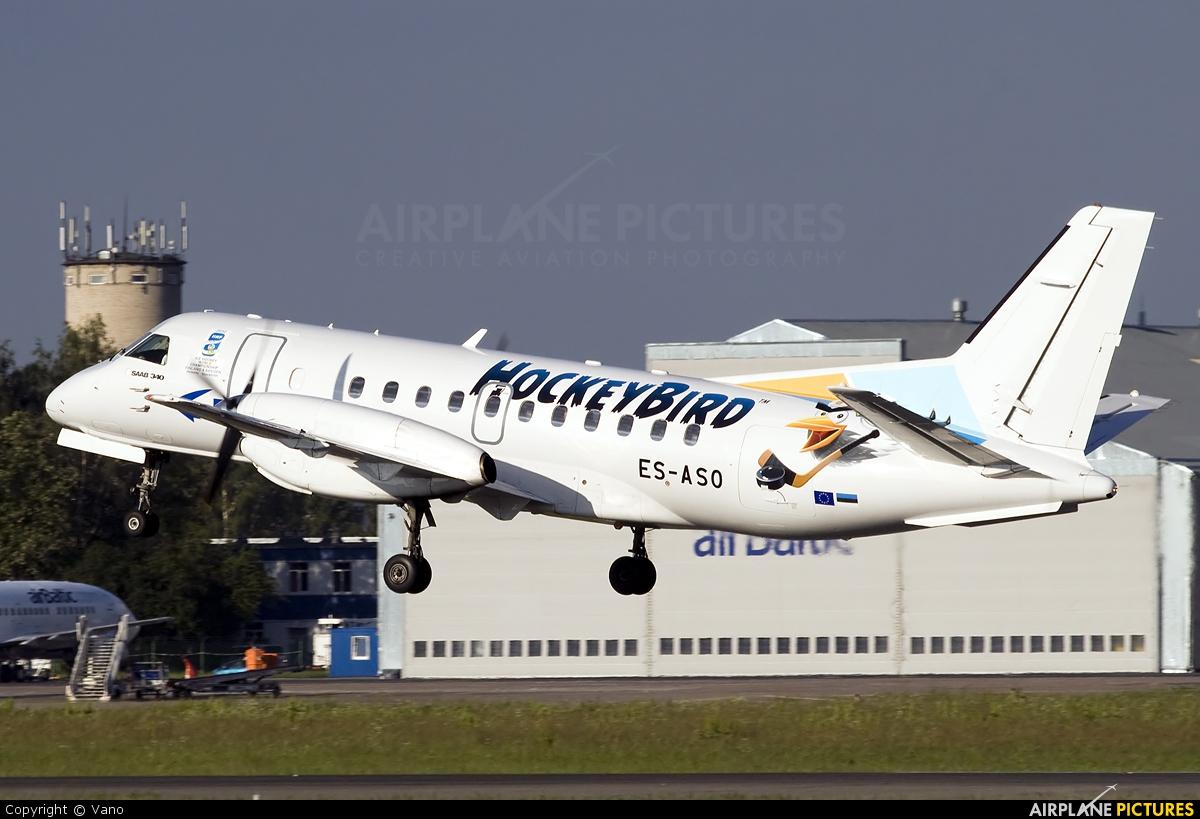 ES-ASO - Estonian Air SAAB 340 at Riga Intl | Photo ID
