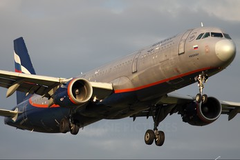 VP-BWP - Aeroflot Airbus A321