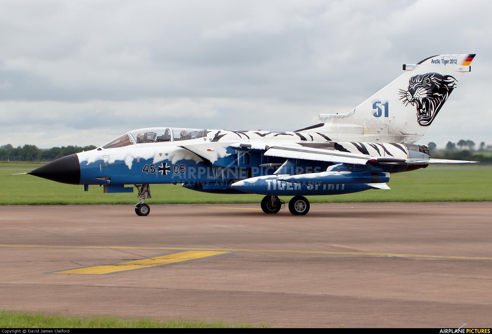 Germany - Air Force 45+85 aircraft at Fairford