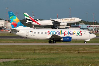 LY-AQV - Small Planet Airlines Boeing 737-300