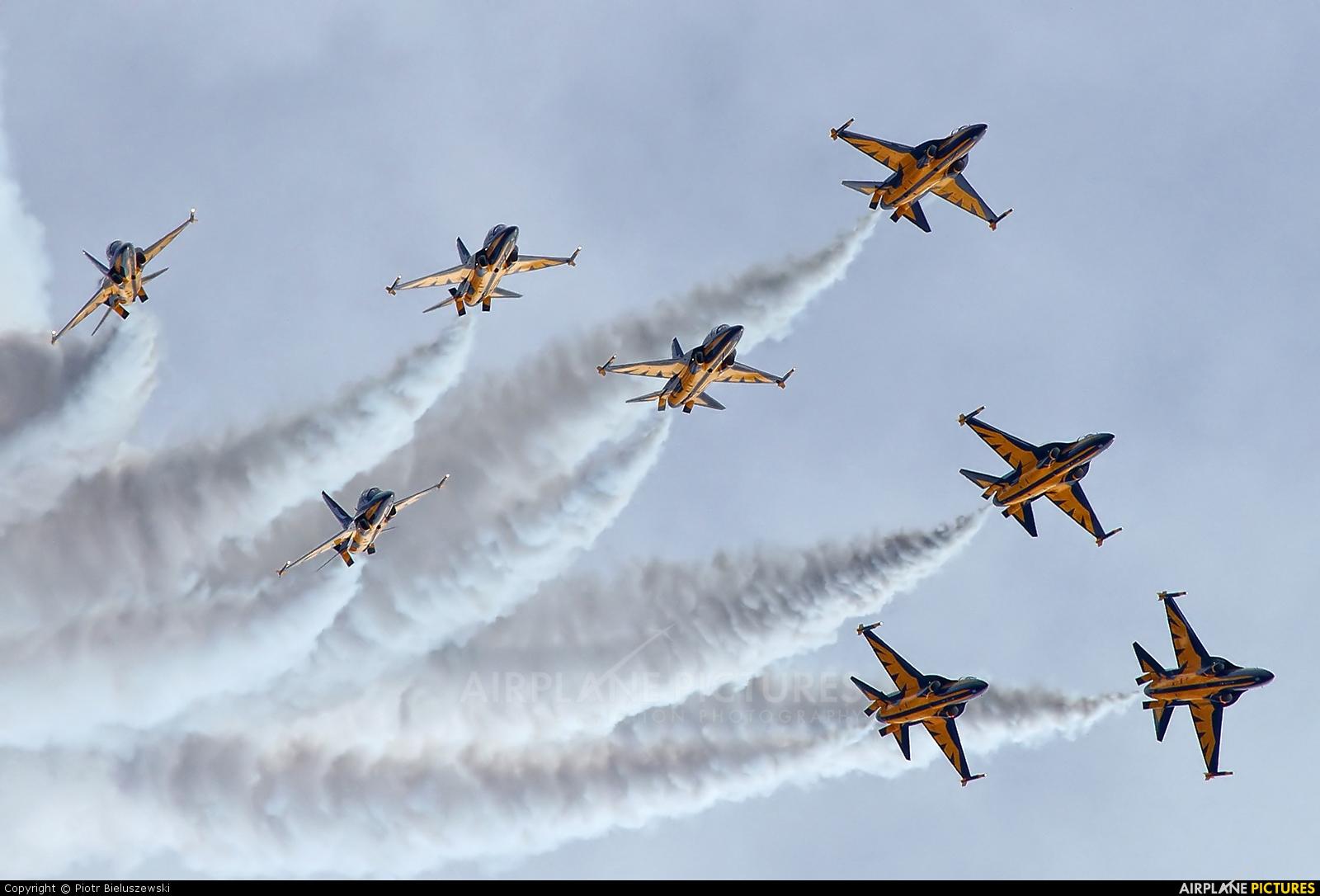 Korea (South) - Air Force: Black Eagles Korean Aerospace T-50 Golden